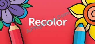 Download Recolor Coloring Book V25 Unlocked Apk Free