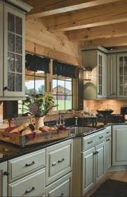 Small Log Cabin Kitchen Ideas by Best 25 Log Cabin Kitchens Ideas On Pinterest Log Cabin Siding