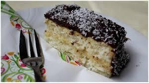 susi s bakery coconut cake with vanillacream and chocolate