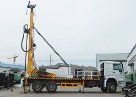100 Truck Well 300m Water Borehole Drilling Machine Mounted Water