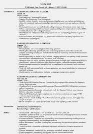 Warehouse Logistics Resume Samples | Velvet Jobs – Logistics ... Senior Marketing Manager Cover Letter Friends And Relatives Warehouse Lead Resume Examples Experience Sample Logistics Samples Template And Complete Guide 20 General Resume Objective Examples 650841 Summary As Duties Of A Worker For Greatest 10 Warehouse Rumees Jobs Free Job Objective Career Best Forklift Operator Example Livecareer Mplate Warehousing Format Skills List Fortthomas