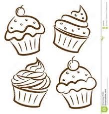 birthday cupcake illustration Google Search