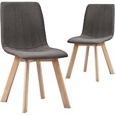 vidaxl 2x esszimmerstuhl küchenstuhl polsterstuhl stuhl set