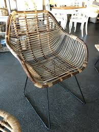 armlehner stuhl rattan modern neu metall base esszimmer tisch