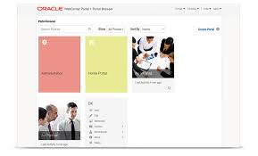 Oracle WebCenter Portal Portal and posite Applications