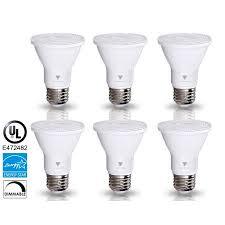 triangle bulbs led bulbs 6 pack 7 watt 50 watt par20 led flood