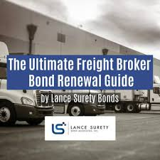 Freight Broker Bond Renewal Guide
