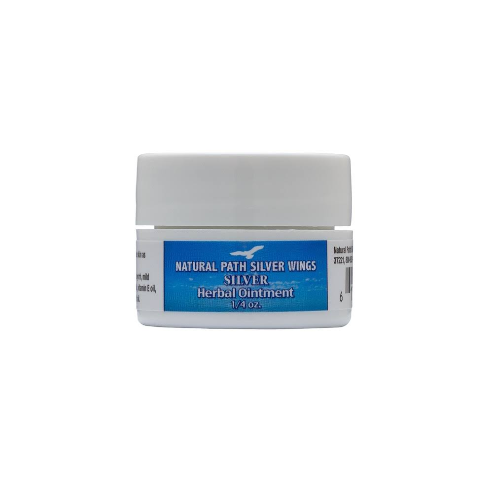 Natural Path Silver Wings Silver Herbal Ointment - 0.25oz