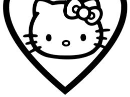 29 Hello Kitty Valentine Coloring Pages 20 Free Printable Hello