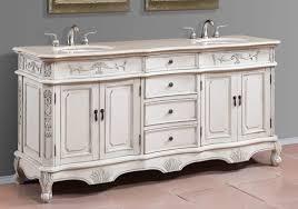antique bathroom vanity with vessel sink in divine adelina inch