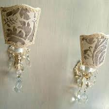 shabby chic wall sconces image for shabby chic table