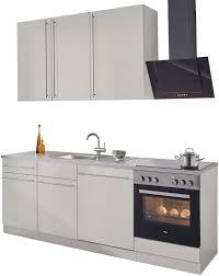 wiho küchen küchenzeile chicago mit e geräten breite 220 cm kaufen otto