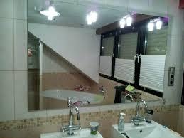 sehr schöne große spiegel badezimmer 4x leuchte halogen 120 x 90