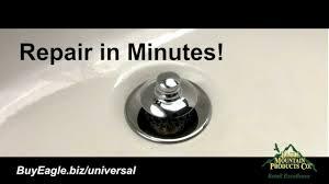 Bathtub Trip Lever Broken by How To Fix A Bathroom Drain Plug