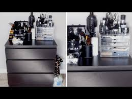 part 1 makeup organization ikea kullen dresser muji acrylic