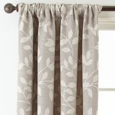 Jcp Home Curtain Rods by Jcpenney Home Quinn Leaf Rod Pocket Back Tab Curtain Panel