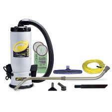 ProTeam QuietPro BP HEPA 6 Qt Backpack Vac with Xover Multi