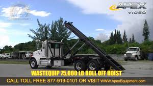 Used Peterbilt Roll Off Truck For Sale - YouTube Vehicles Rays Trash Service Rolloff Tilt Load Becker Bros Used Rolloff Trucks For Sale 2001 Kenworth T800 Roll Off Container Truck Item K1825 S A Rumpke Hoists A Compactor Receiver Box Compactors 2009 Mack Pinnacle Truck Youtube In Fl Freightliner Business Class M2 112 Roll Off Trailer System Customers Call The Ezrolloff Beast 2003 Cv713 1022