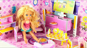 Barbie Living Room Playset by Barbie Chelsea Living Room Craft Doll By Kids Toys Channel Youtube