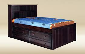 Toledo Extra Long Twin Captains Bed with Drawers