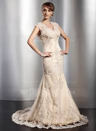 trumpet mermaid v neck court train tulle wedding dress with