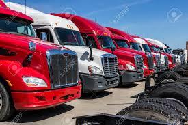 100 Truck Semi For Sale Indianapolis Circa June 2017 Colorful Tractor Trailer