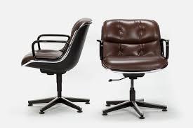 Knoll Pollock Chair Vintage by Pair Of Pollock Executive Chairs 12e1 Knoll Okay Art