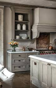 light grey kitchen cabinets with countertops benjamin