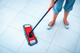 cleaning tile floors the easy way v view