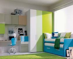 Bedroom Design Ideas With Fresh Kids Shared Room Idea Green Tones And Bright Blue For Boys Girls Cutting Edge Interior Decorating