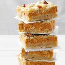 Best Pumpkin Desserts Nyc by Cream Cheese Pumpkin Bars Recipe Taste Of Home