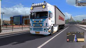 Euro Truck Simulator 2 (1.30) Scania W&B Transport + DLC's & Mods