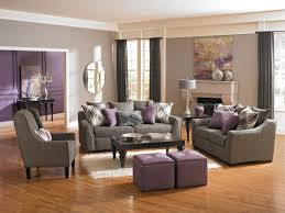 Grey And Purple Living Room Furniture by Gray Purple Living Rm Eclectic Living Room Interesting Living