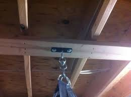 Installing Ceiling Joist Hangers by Heavy Bag Installation Help Needed My Les Paul Forum