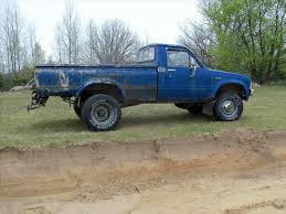 Flexing 1985 Toyota Pickup 4×4 Lifted Chevy Leaf Springs ...
