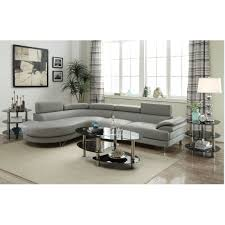 Poundex 3pc Sectional Sofa Set by Modern Sectional Sofas Roselawnlutheran