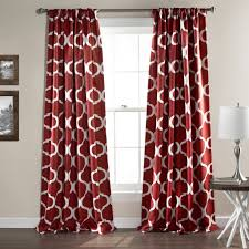 108 Inch Blackout Curtain Liner by Geo Room Darkening Window Curtain Set Lush Decor Www Lushdecor Com