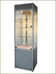 DecorationGlass Cabinet For Sale Wooden Wall Display Cabinets Glass Countertop Case Figurine