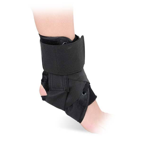 Advanced Orthopaedics Canvas Lace-Up Ankle Brace - Small