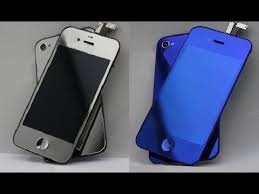 iPhone 4S Color Conversion Blue & Chrome iPhone 4S Display Tuning