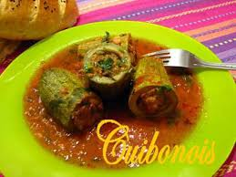 comment cuisiner les courgettes au four recette de courgettes farcies à l algérienne