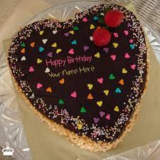 Write Name on Cake Birthday Cake for Girlfriend With Name