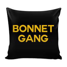 Bonnet Gang Pillow Cover