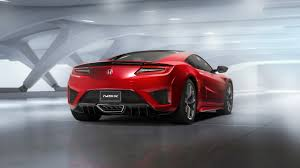 The Honda NSX Sports Car