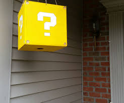 Mario Question Mark Block Hanging Lamp by Mario Candy Box Dispenser 5 Steps With Pictures