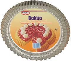 dr oetker bakita obstform 28 cm obstkuchenform backform