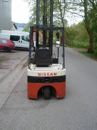 100 Nissan Lift Trucks N01L15U Electric Forklift Trucks Material Handling Used
