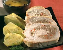 comment cuisiner un roti de dinde rôti de dinde farci à l orange sauce au poivre vert colruyt
