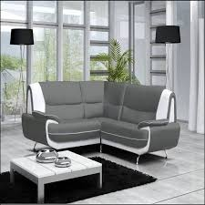 canapé simili cuir gris canape simili cuir gris blanc maison