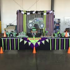 Monster Jam Gravedigger Birthday Party Ideas | Photo 3 Of 10 | Catch ... Chic On A Shoestring Decorating Monster Jam Birthday Party Nestling Truck Reveal Around My Family Table Birthdayexpresscom Monster Jam Party Favors Pinterest Real Parties Modern Hostess Favor Tags Boy Ideas At In Box Home Decor Truck Decorations Cre8tive Designs Inc Its Fun 4 Me 5th